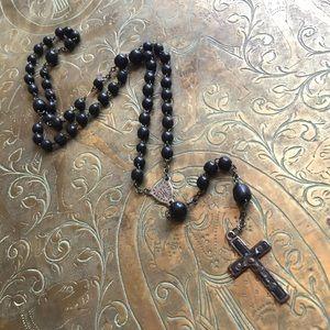 Jewelry - antique black rosary